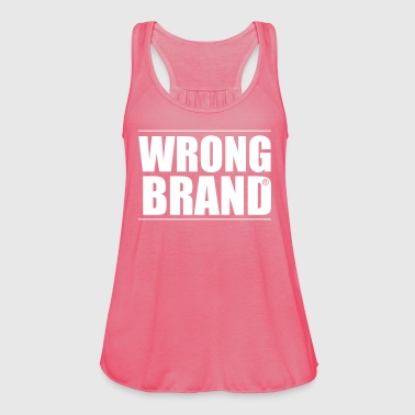 Wrong Brand: the ultimate brand parody - Women's Tank Top by Bella
