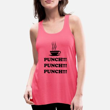 Punch Punch !!! Punch !!! Punch !!! - Tanktop med racerback dame