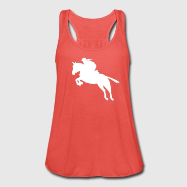 show jumping girl - Women's Tank Top by Bella
