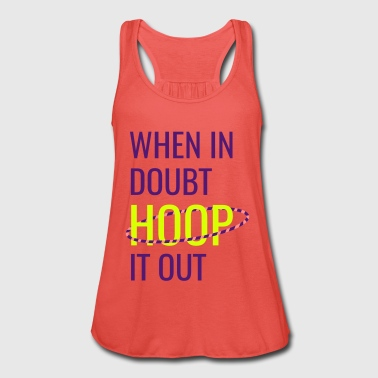 Hoop It Out [Blue] - Women's Tank Top by Bella