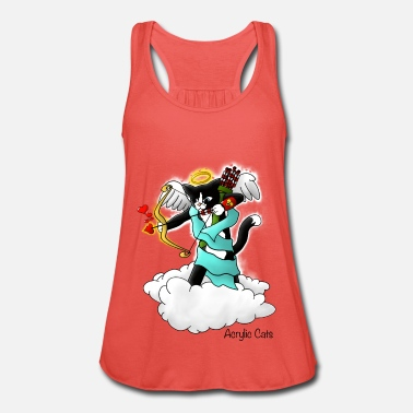 Cupid Valentinstag Tuxedo Cupid Cat - Frauen Tank Top von Bella