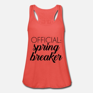 Spring Break Spring Break / Spring Break: Officiella spring break - Tanktopp dam från Bella