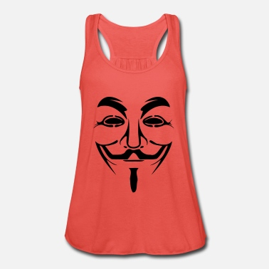 Anonymous maske Anonymous - Frauen Tank Top von Bella