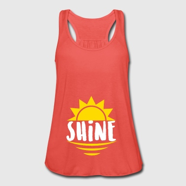 Shine - lights, rays - Women's Tank Top by Bella