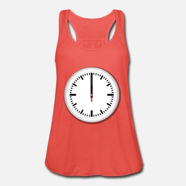 Clock Clock - Women's Flowy Tank Top