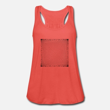 Pattern line design - Women's Flowy Tank Top