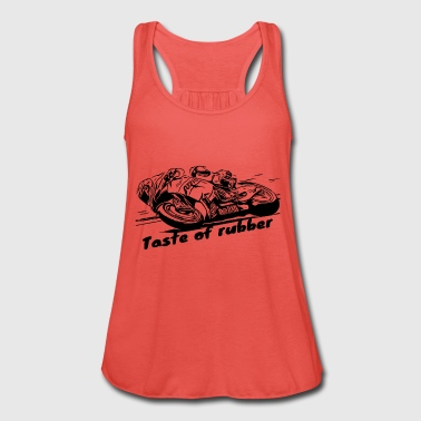 Taste of rubber 2 black - Women's Tank Top by Bella