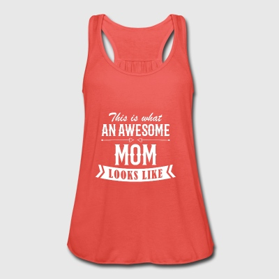 Awesome Mom - Vrouwen tank top van Bella