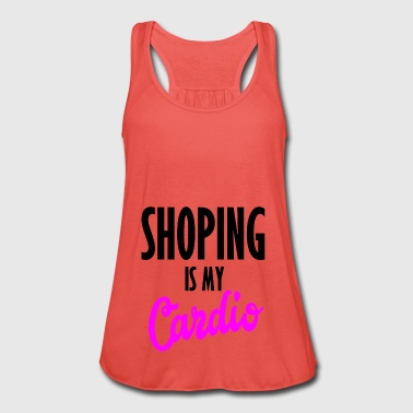 shopping er min cardio - Singlet for kvinner fra Bella