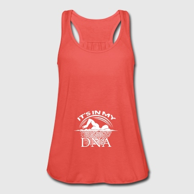 Swimming is in my DNA gift - Women's Tank Top by Bella