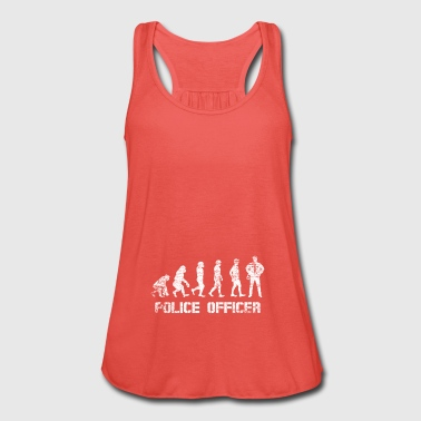 Evolution human policeman police vintage gift - Women's Tank Top by Bella