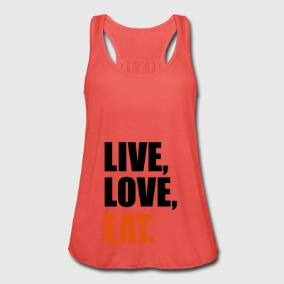 2541614 14447167 eat - Women's Tank Top by Bella