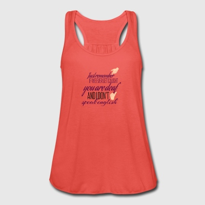If we ever get caught - Women's Tank Top by Bella
