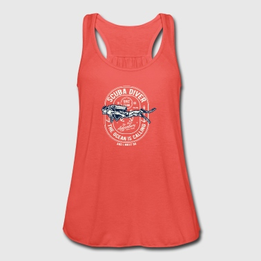 Scuba Diver2 - Women's Tank Top by Bella