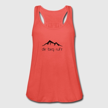 The mountain is calling black - Women's Tank Top by Bella