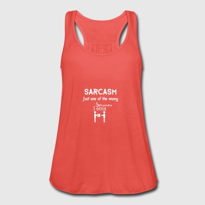 Sarcasm - Women's Tank Top by Bella