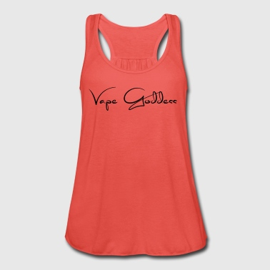 Vape Goddess - Steamer motif - Women's Tank Top by Bella