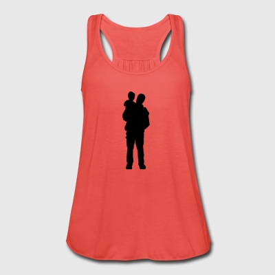 father and son - Women's Tank Top by Bella