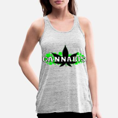 Smoke Weed Weed - Grass - Smoke - Smoking - Women's Tank Top by Bella