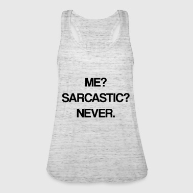 sarcastic - Women's Tank Top by Bella