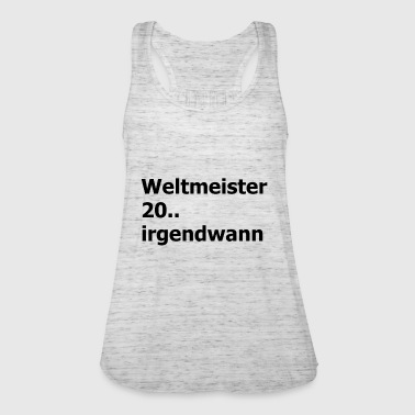 Weltmeister schwarz - Women's Tank Top by Bella