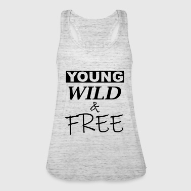 young wild and free - Women's Tank Top by Bella
