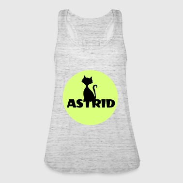 Astrid name cat full moon name day - Women's Tank Top by Bella
