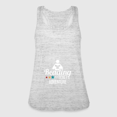 Read READING - READING - READING - BOOKSHOP - BOOKS - Women's Tank Top by Bella