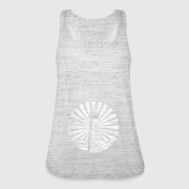 Lighthouse rays light shine on the beach - Women's Tank Top by Bella