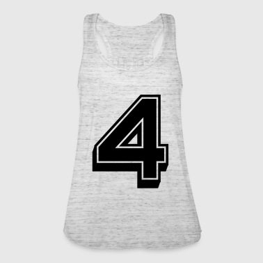 Player Number Player number - Women's Tank Top by Bella