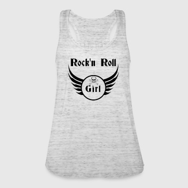 Rock and roll girl  - Naisten tankkitoppi Bellalta