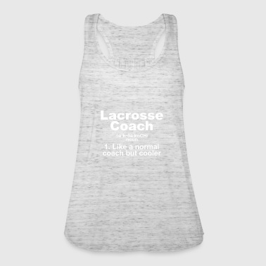 LACROSSE COACH SPEILER BAT TEAM GIFT - Women's Tank Top by Bella