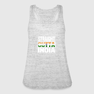 Straight Outta straight outta india - Frauen Tank Top von Bella