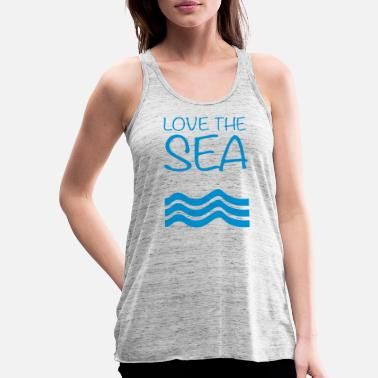 Love the Sea - Frauen Tank Top von Bella