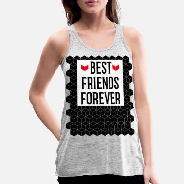 43 Best Friends Forever - Frauen Flowy Tanktop