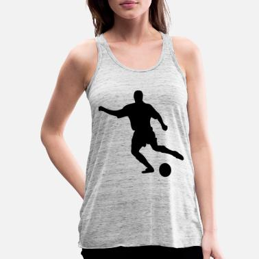 Soccer Player Soccer player Soccer player, - Women's Flowy Tank Top