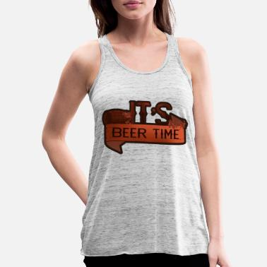 Together It's time for a beer - Women's Flowy Tank Top