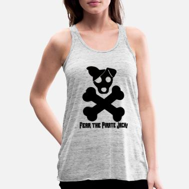 Jack Pies / Jack Russell: Fear The Pirate Jack! - Tank top damski