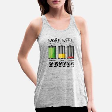 Life Energy Life Energy Energy Battery Gift Lifestyle - Women's Flowy Tank Top