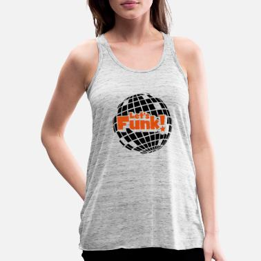 Blaxploitation Discoball - Women's Flowy Tank Top