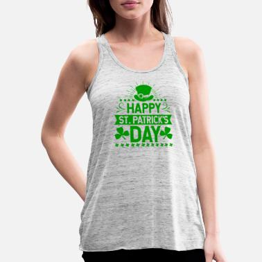 St Happy St. Patrick's Day Ireland holiday gift - Women's Flowy Tank Top