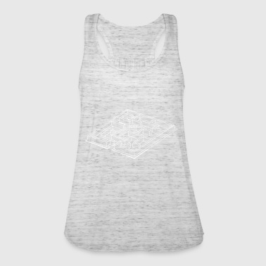 Labyrinth - Frauen Tank Top von Bella