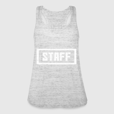 Staff stamp white - Women's Tank Top by Bella