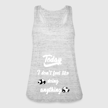 lazy_pandy_whityy - Women's Tank Top by Bella