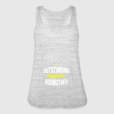 Distressed - OUTSTANDING KAYAKING GODMOTHER - Women's Tank Top by Bella