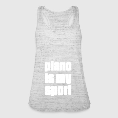 Piano is my sport gift for piano players - Women's Tank Top by Bella