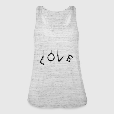 LOVE as balloons - Women's Tank Top by Bella