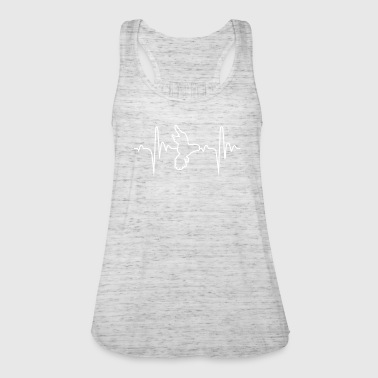 Bird 4 Hobby Heartbeat Gift - Women's Tank Top by Bella