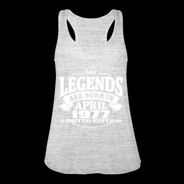 Legends are born in april 1977 - Women's Tank Top by Bella