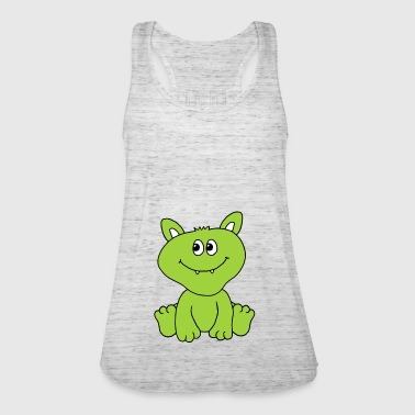 Cute monster - Women's Tank Top by Bella